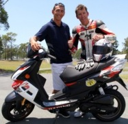 Mat Rogers   Troy Bayliss