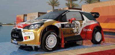Citroen Total Abu Dhabi World Rally Team.