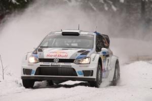 Sebastien Ogier  Julien Ingrassia  Volkswagen Polo WRC.
