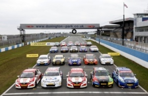 BTCC grid 2013