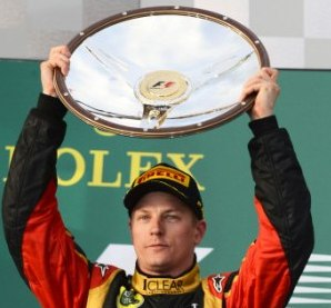 Kimi Raikkonen Australian Grand Prix, Melbourne