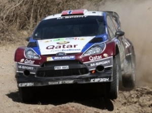 Mads OSTBERG (NOR) - Jonas ANDERSSON (SWE) Ford Fiesta RS WRC