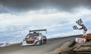 Sebastien Loeb  'King of the Peak'