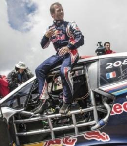 Sebastien Loeb  'King of the Peak'1