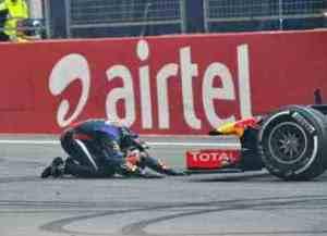 Sebastian Vettel (GER) Red Bull Racing RB9..