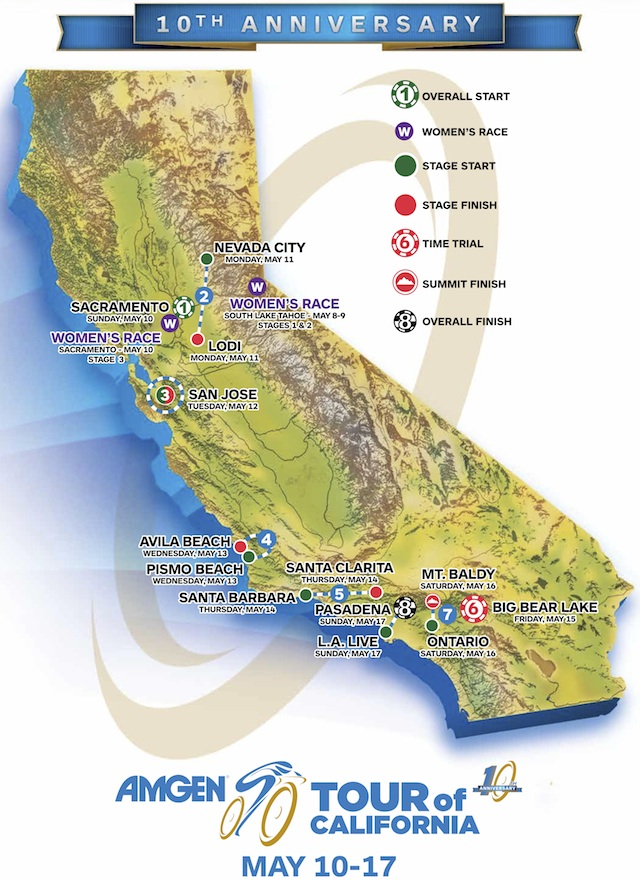 route-mapTour of California